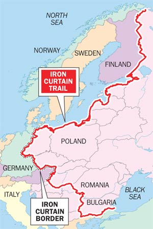 Biking Borders: The Iron Trail | Montague Bikes