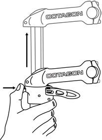 Octagon adjustable stem