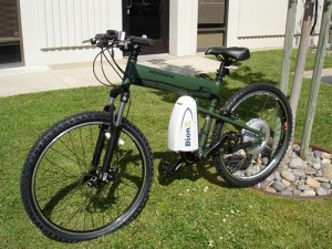 Paratrooper electric folding bike - ebike from Velolectric