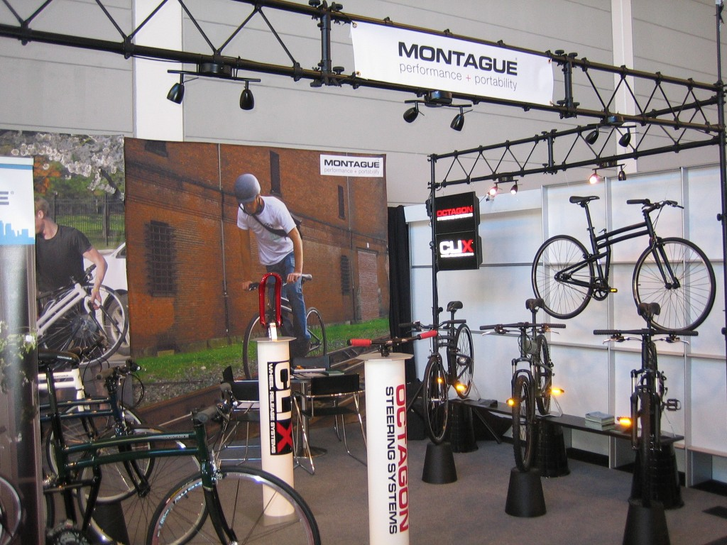 Montague Folding Bikes Eurobike Booth
