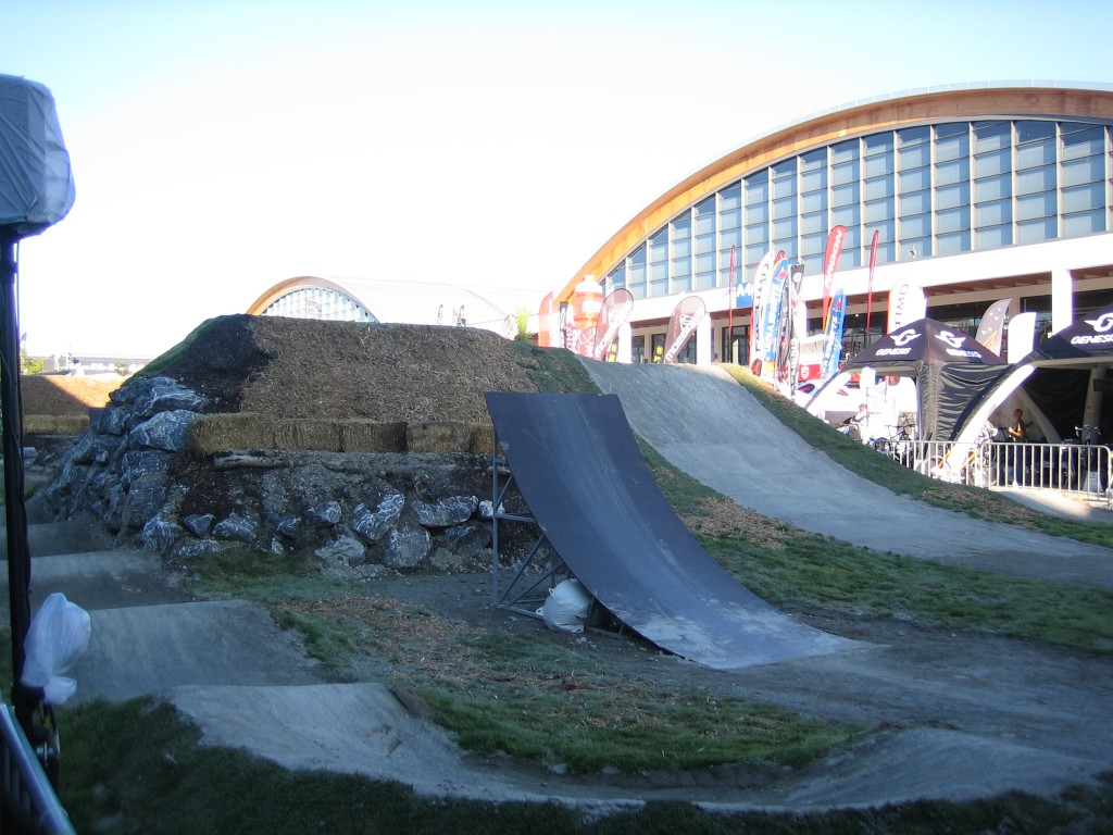 Track at Eurobike Outdoor Demo