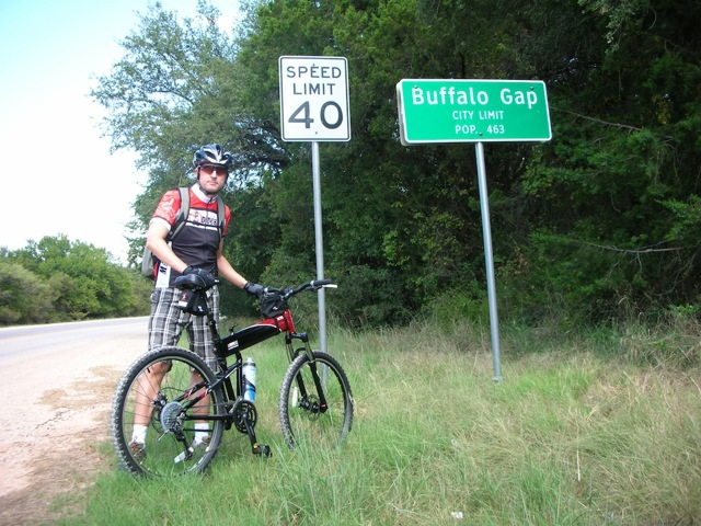 Montague X70 folding bike in Buffalo Gap Texas