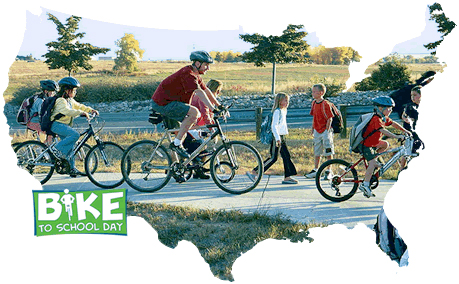 May 9 is the Inaugural National Bike to School Day