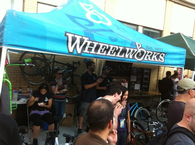 Our friends from Wheelworks