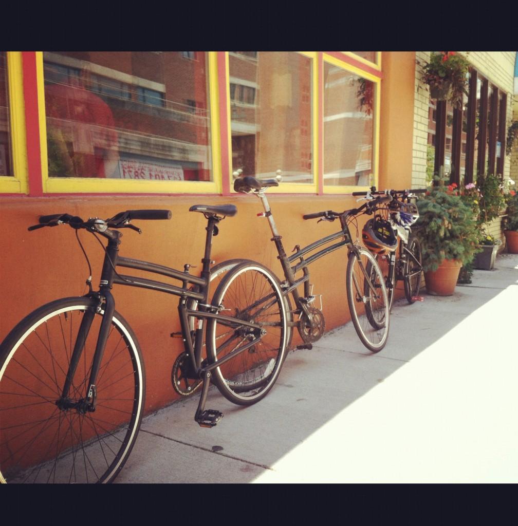 Folding bike adventure