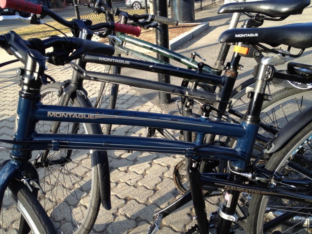 Bike line up