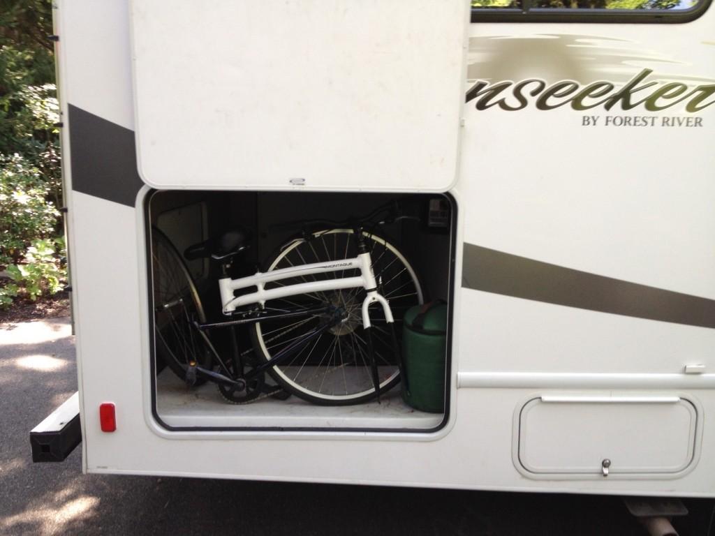 Folding Bike for RV travel