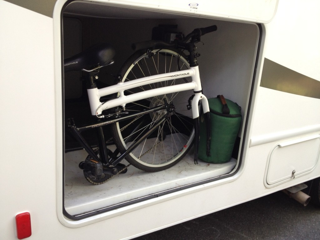 Folding bikes for RV summer adventures