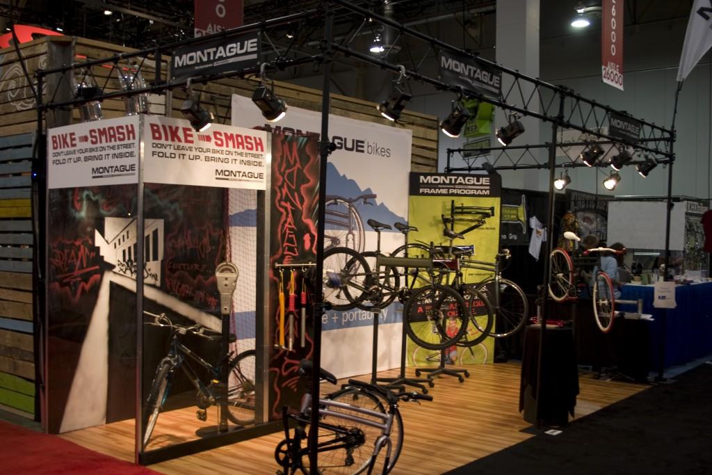 Montague Folding Bikes Booth InterBike 2012