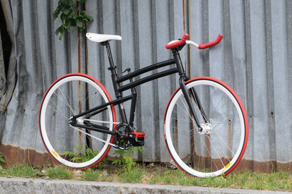 Montague Boston folding fixed gear