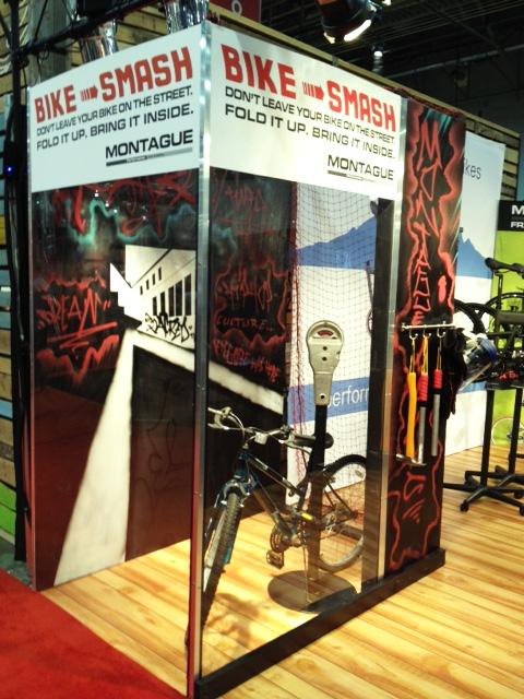 Montague booth InterBike 2012 Bike Smash