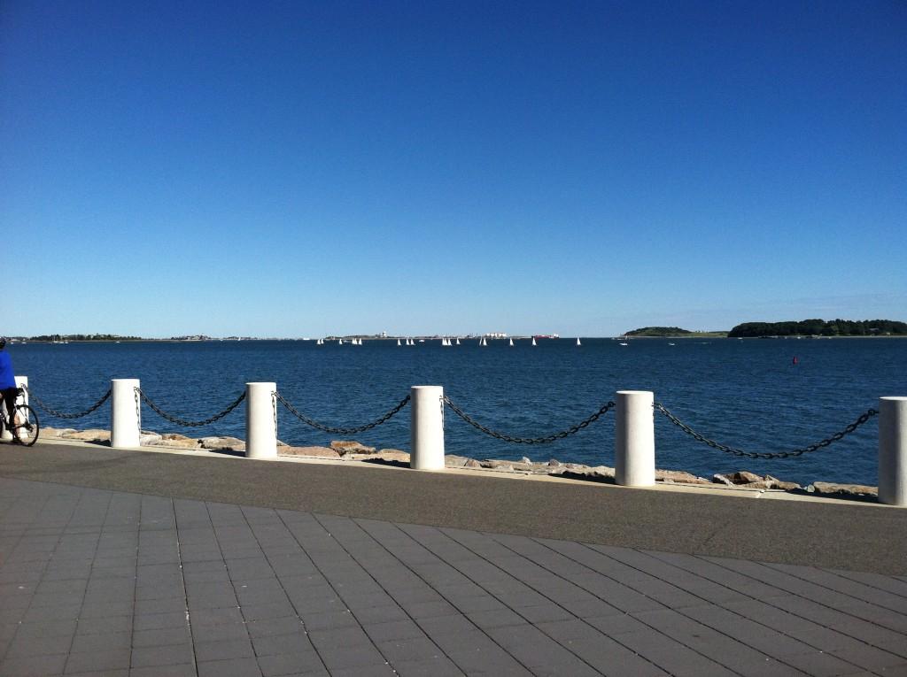 Sea view Harborwalk Boston, Hub on Wheels