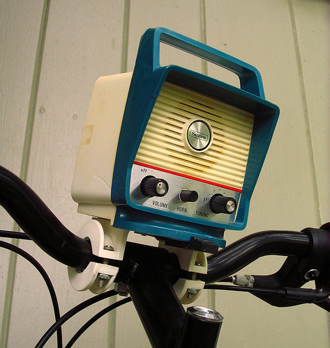 Folding bikes on the radio