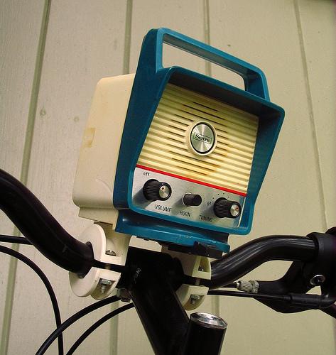 Folding Bikes on the Radio