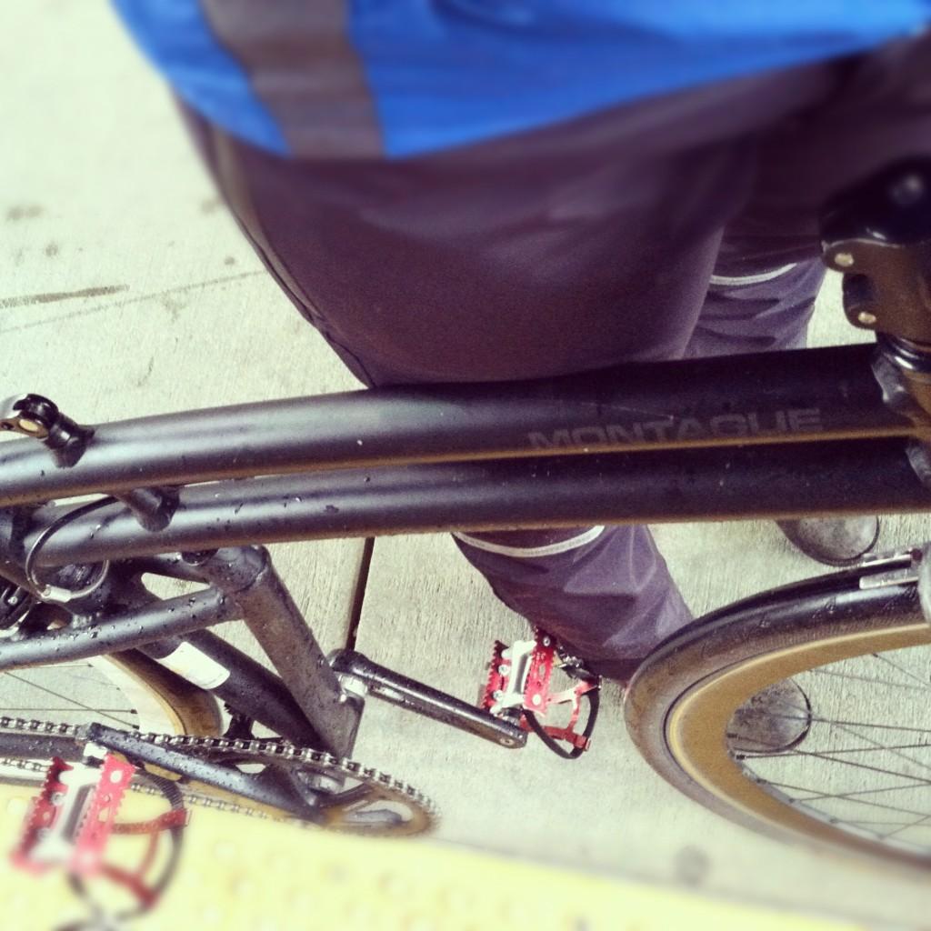 folding bike multi-modal transit