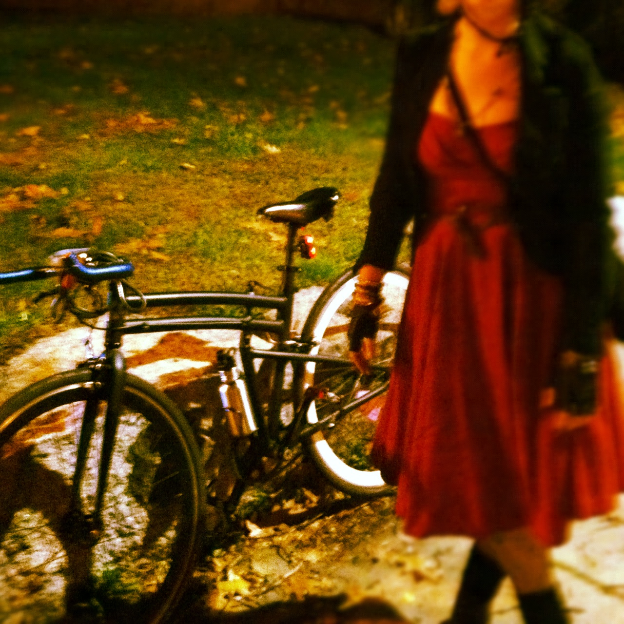 Folding Bike for Halloween