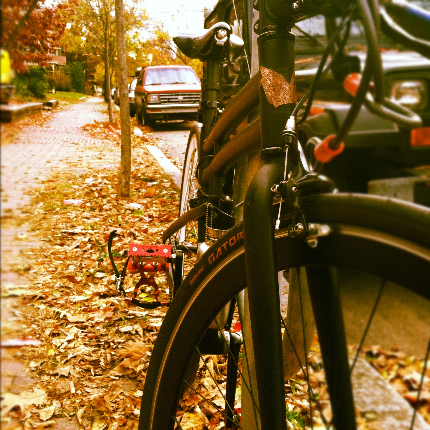 Montague folding bike adventure