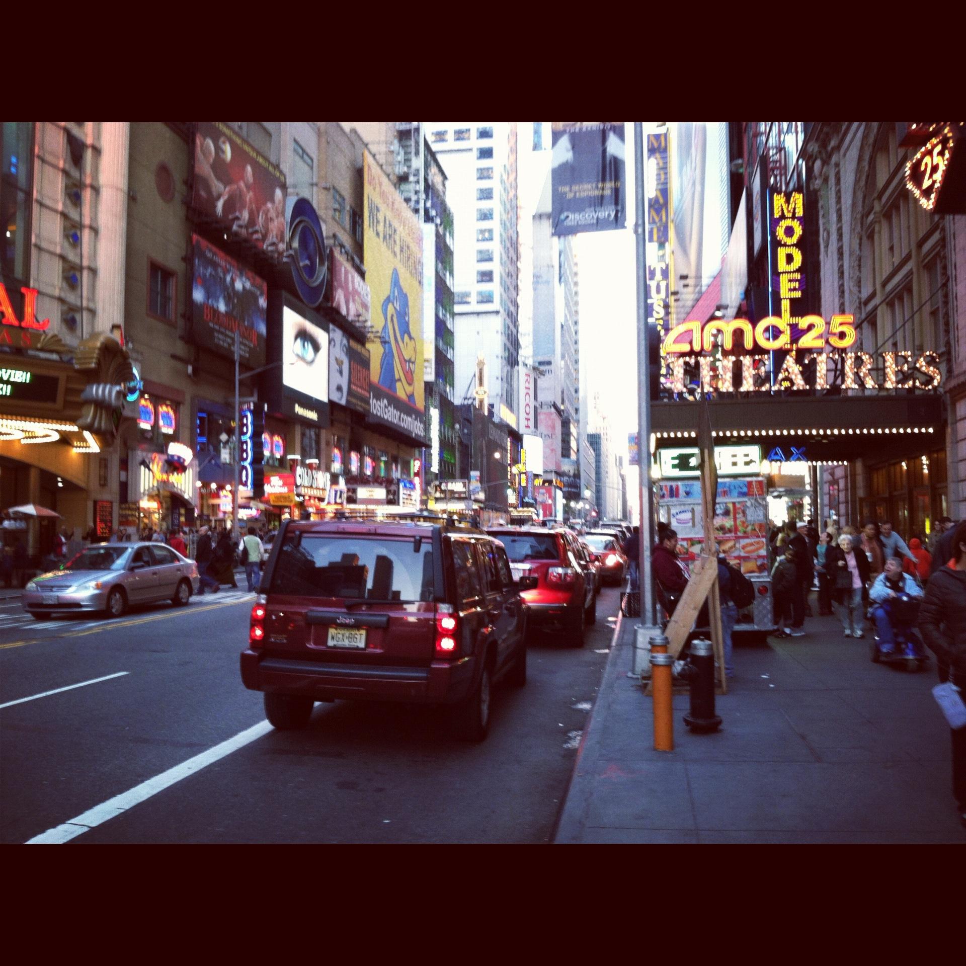 8th Avenue, A week before Sandy