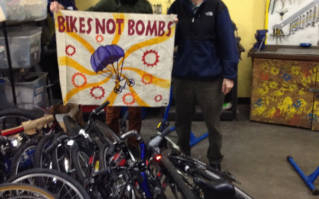Bikes Not Bombs & Montague