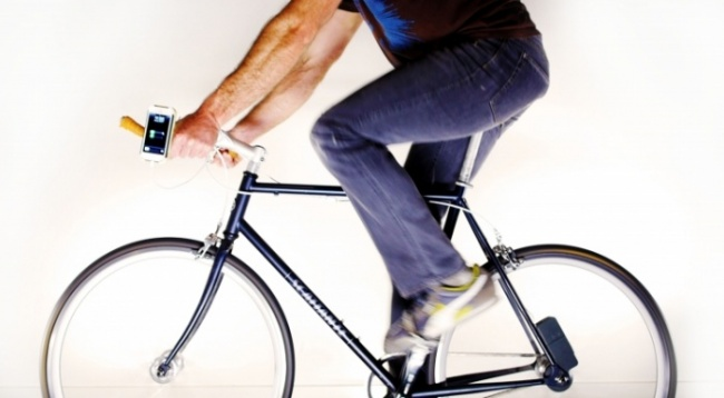 Charge Your Device by Bike: The Atom by Siva Cycle