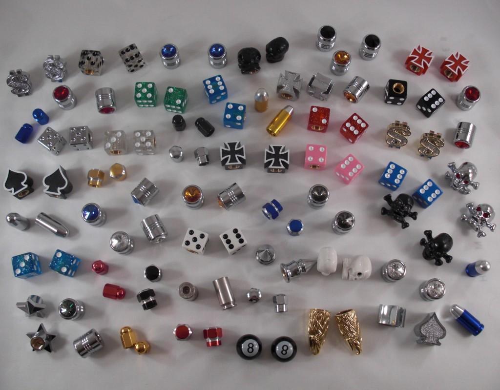 hundred valve caps