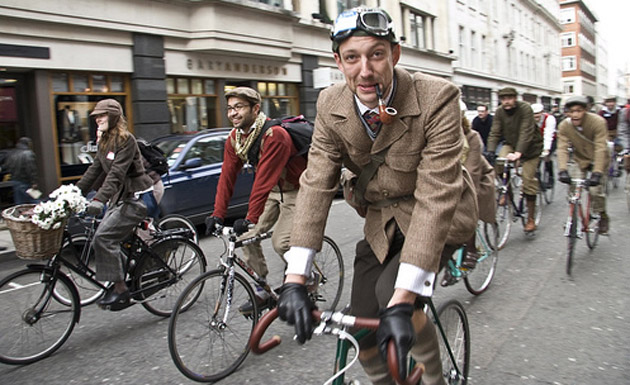 Would you dress in Tweed for a bike rally?