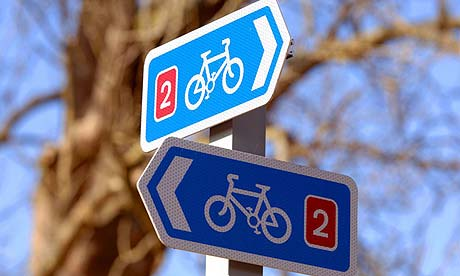 UK Cycle Routes Proven to Reduce Car Trips