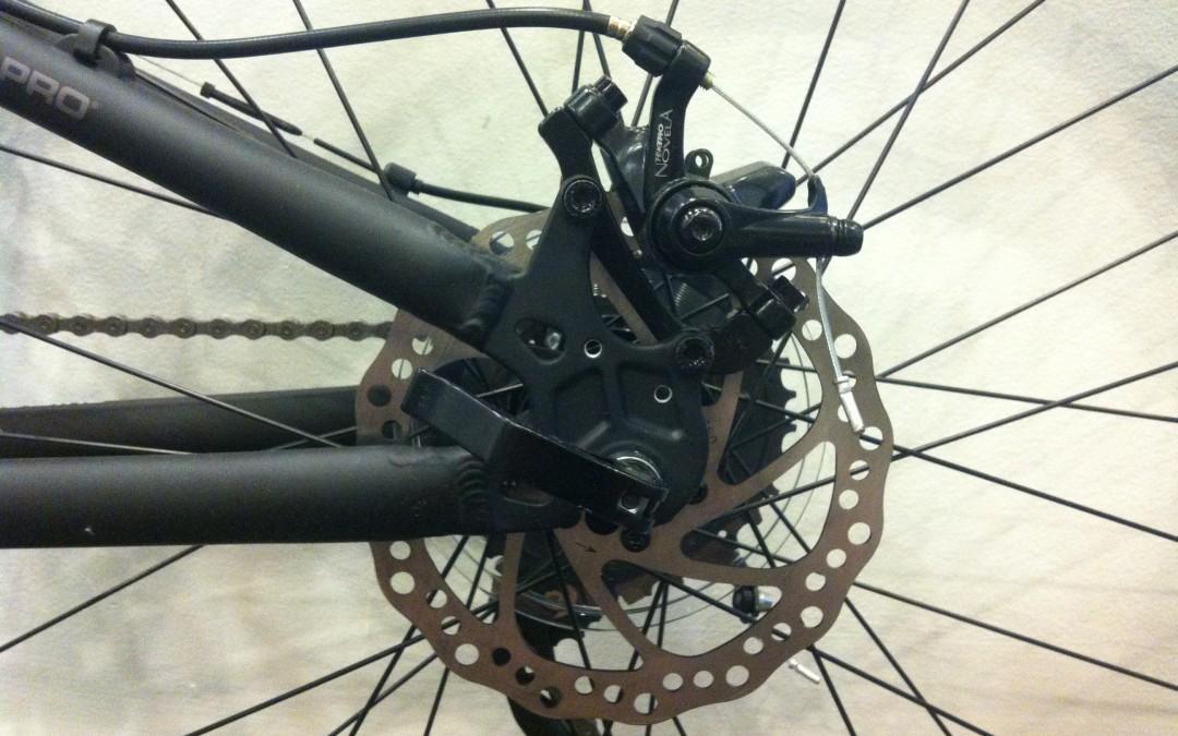 Adjusting Mechanical Disc Brakes