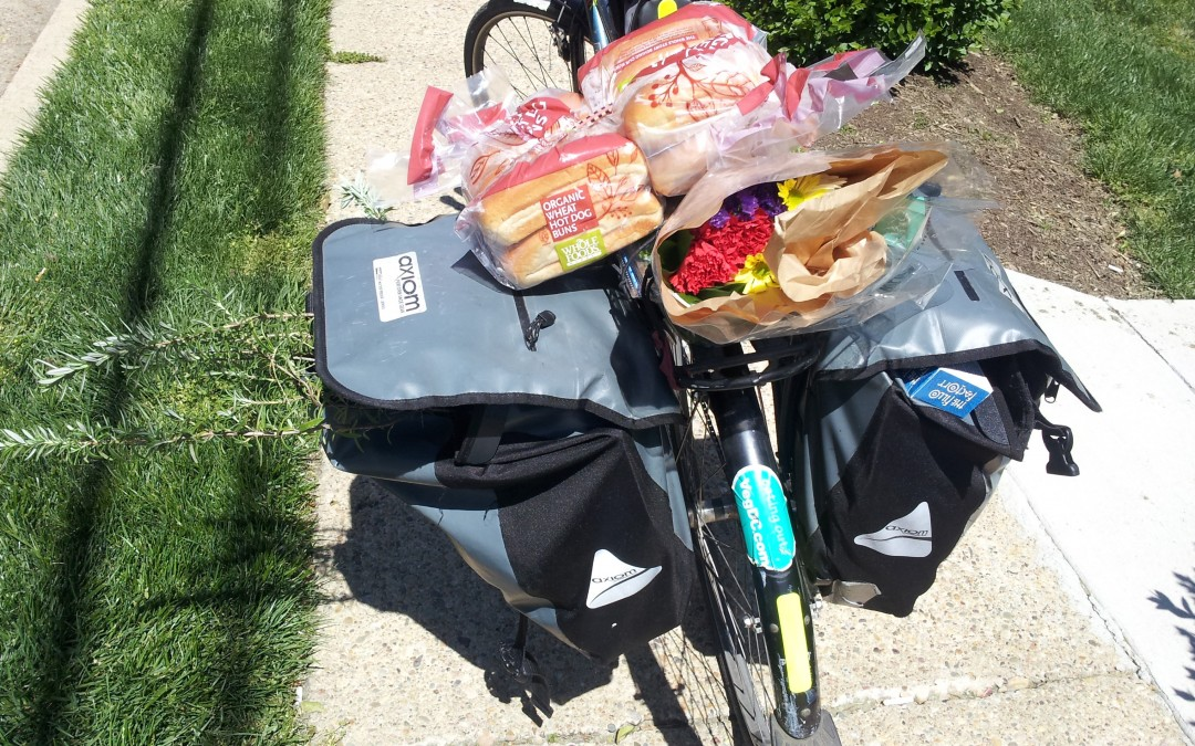 Cycle to the Grocery (and Eat Well Too)!