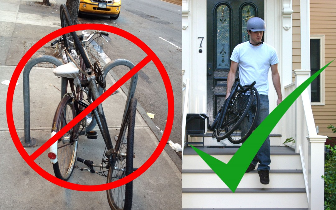 Mean Streets: The Advantage of a Folding Bike