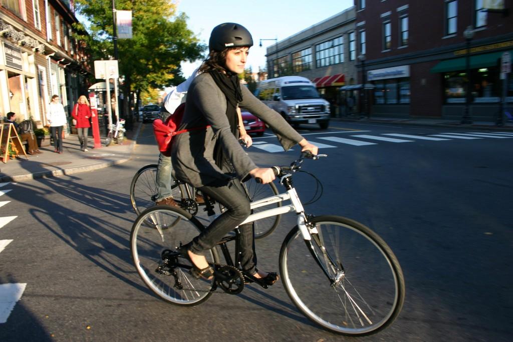 Crosstown riding