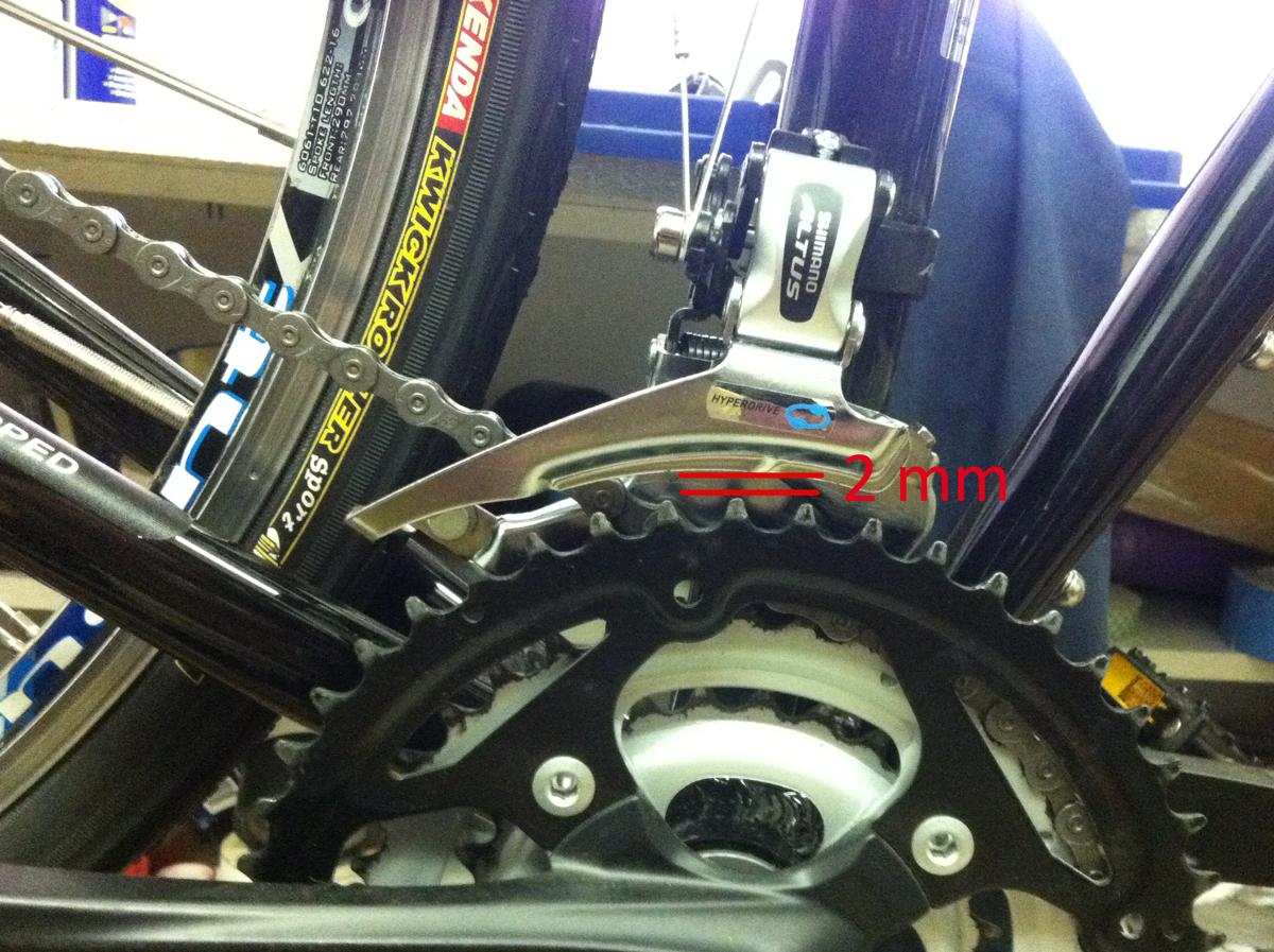 Front Derailleur Adjustment Montague Bikes