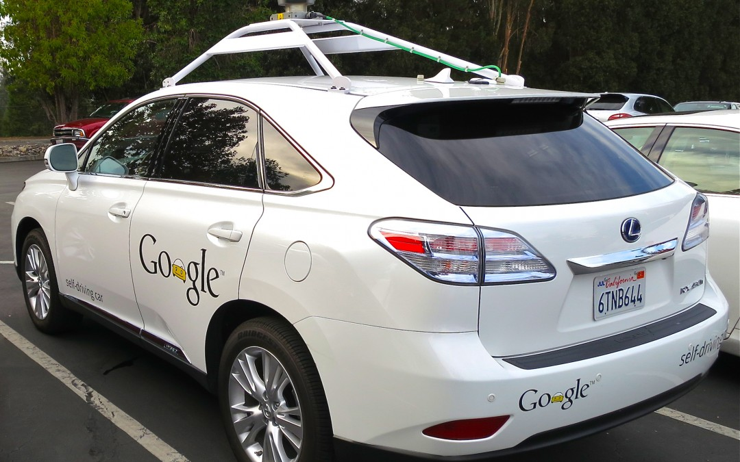 Google Self Driving Car Recognizes Cyclists