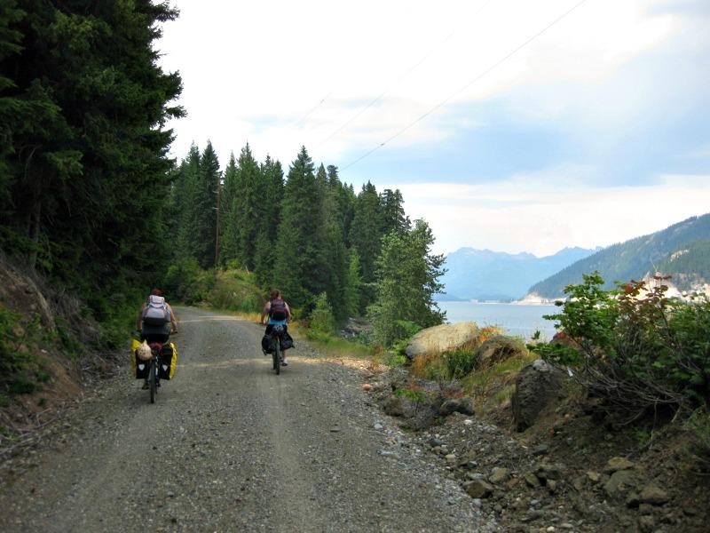 Trip with Montague folding bike