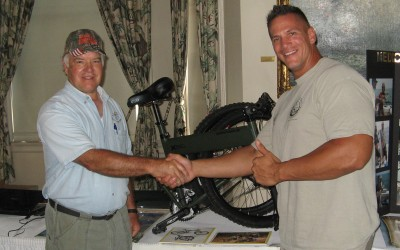 Operation Injured Soldiers Fishing Tournament – Bike Giveaway