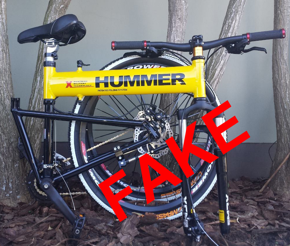 Important Any New Bike Using The Hummer Brand Name Is A Copy Montague Did Work With General Motors To Produce Branded Bikes Between 2002 And 2007