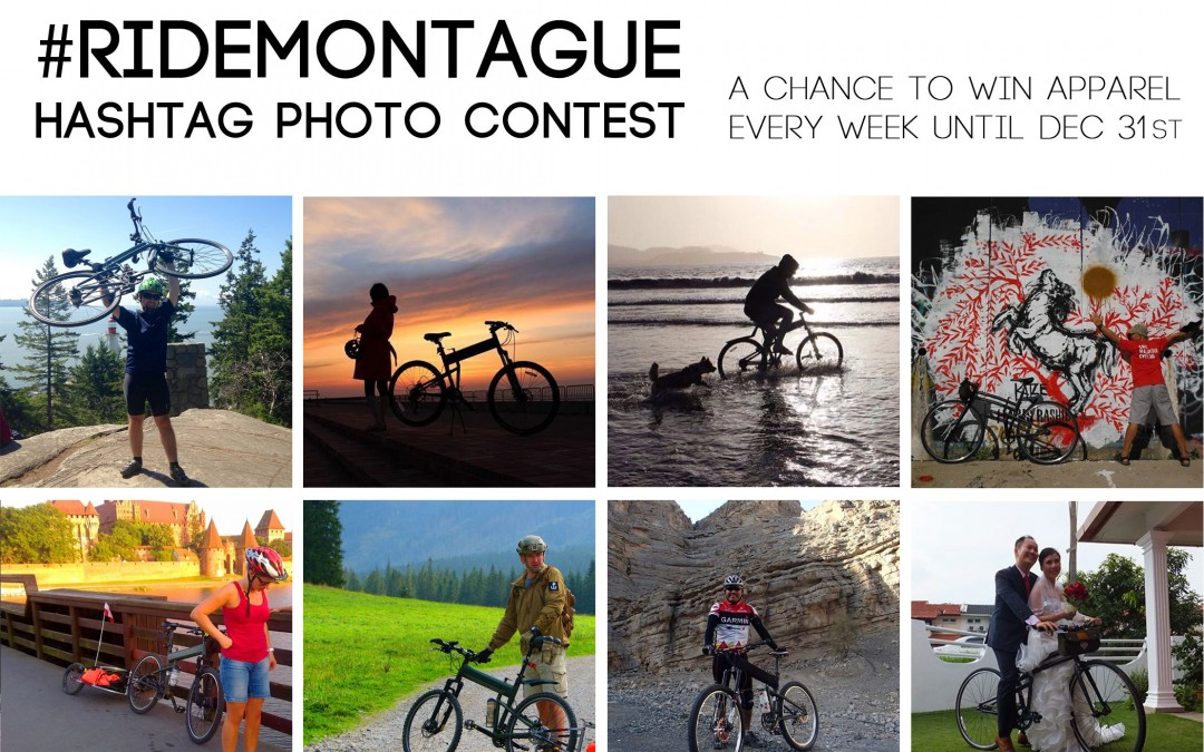 #RideMontague Hashtag Photo/Blog Contest