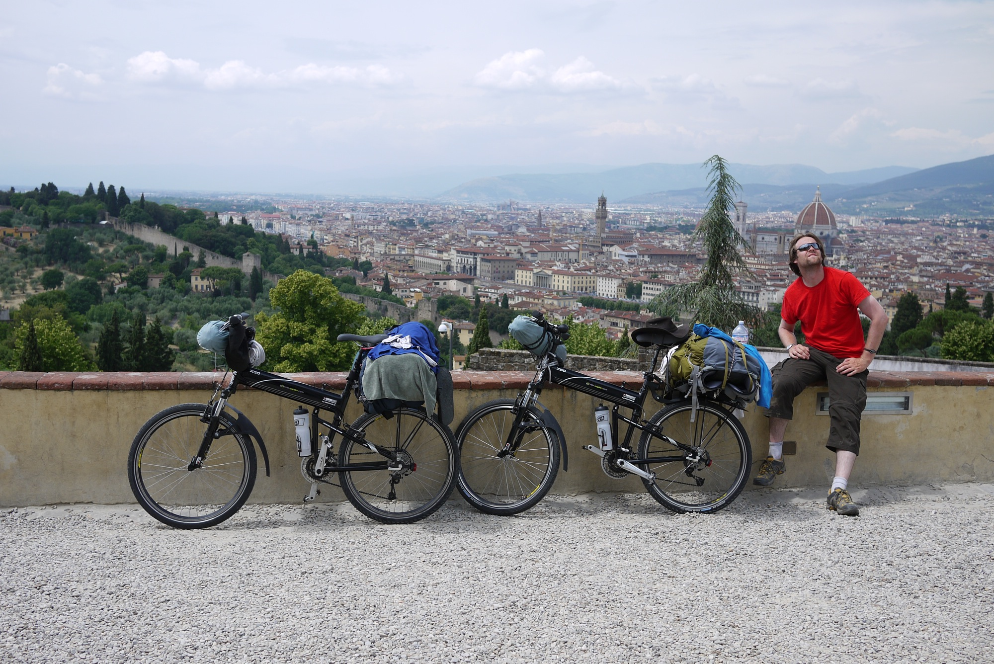 Brothers tour the world on montague bikes montague bikes for The montague