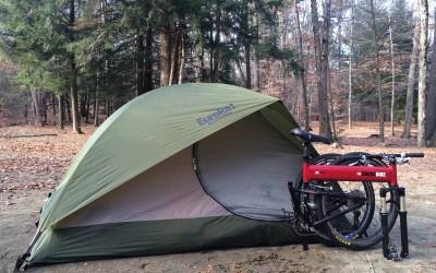 Camping: Bring Your Folding Bike Along