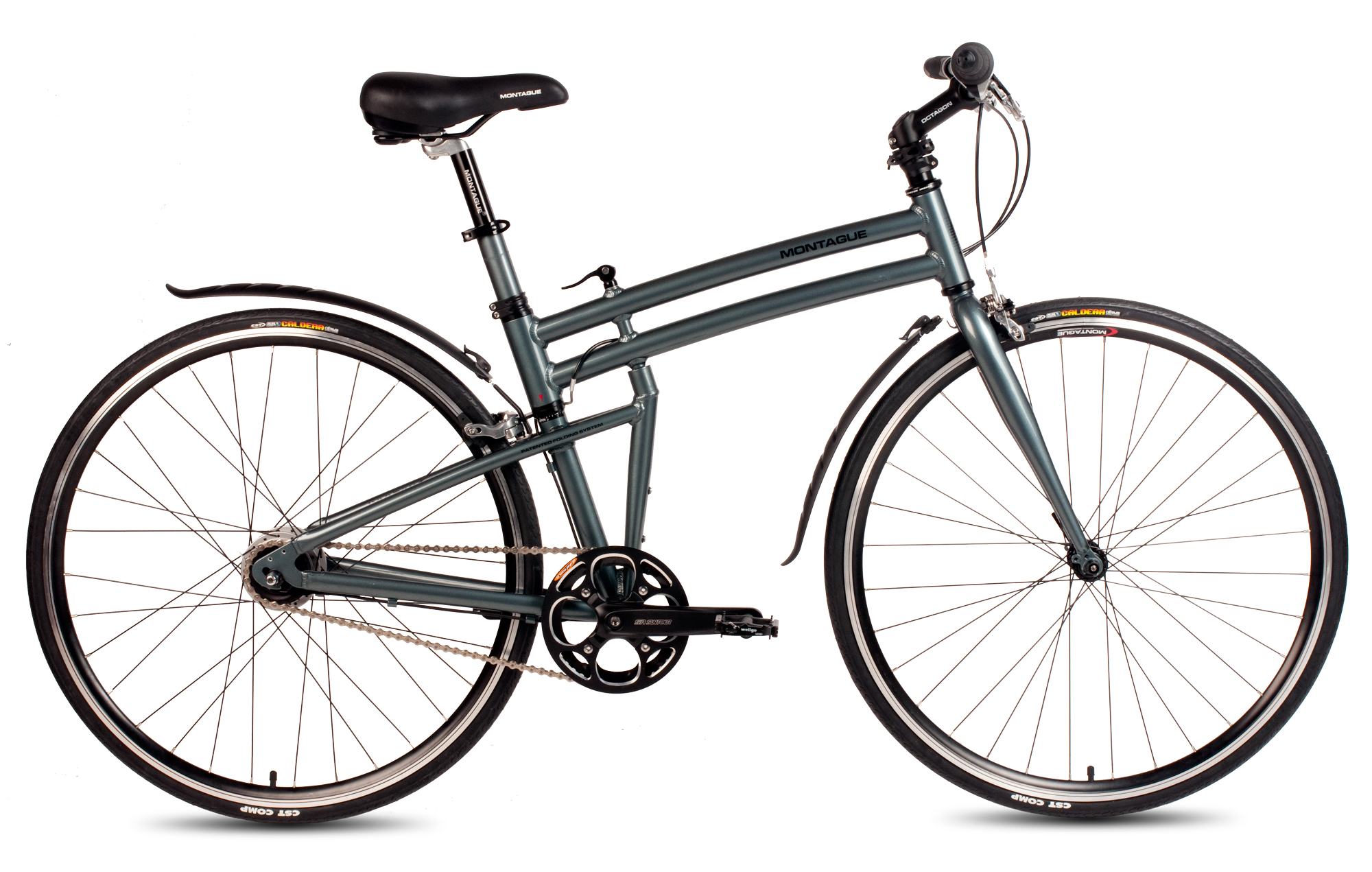 Boston 8 Pavement Folding Bike