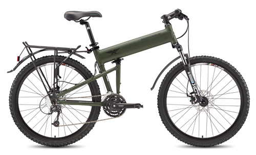 Paratrooper folding bike open