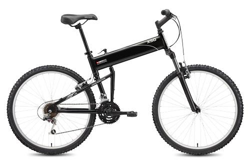 2011 X50 folding bike open