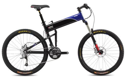 2011 X90 folding bike open