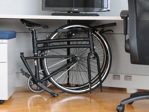 Montague Fodling Bike Under Desk
