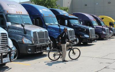 Folding Bikes and Long Haul Truckers