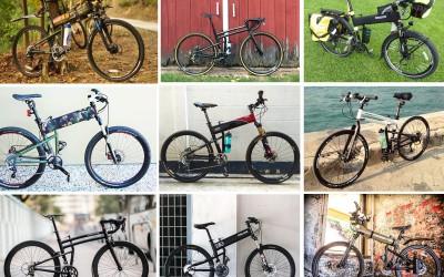 Custom Montague Folding Bikes