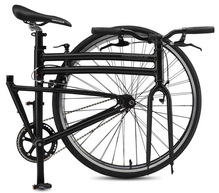 Boston Singlespeed Folding Bike Folded