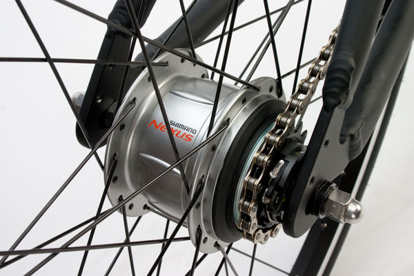 Boston 8 Shimano Nexus IGH Closeup