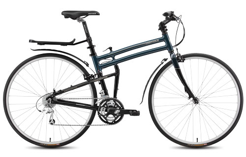 2015 Montague Navigator folding bike open
