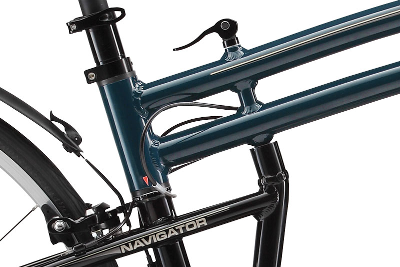 Folding Bike Frame System Closeup